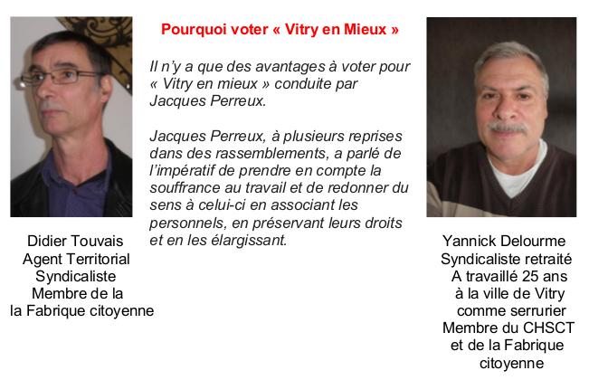 Didier Touvais                                                                            Yannick Delourme