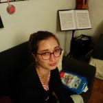 Florence Touvais, 28 ans, sage-femme en maternité auprès de femmes en difficultés, habitante depuis toujours à Vitr, quartier du Centre-Ville