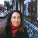 Yasmina Rabia, 36 ans, animatrice commerciale, ancienne militante du Front de Gauche, mobilisée autour d'un projet d'un projet de conseil en image pour des jeunes en recherche d'emploi et d'insertion , quartier du 8 mai